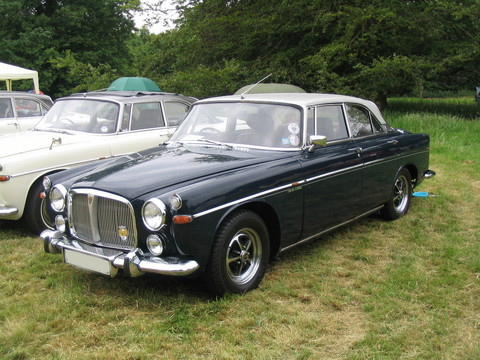 Rover P5B Saloon & Coupe